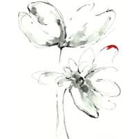 Irina K. 'Stem Floral I' Canvas Print 30-inch x 40-inch Canvas Art