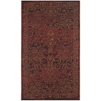 Safavieh Serenity Transitional Oriental Ruby/ Gold Area Rug - 2'3 x 3'9