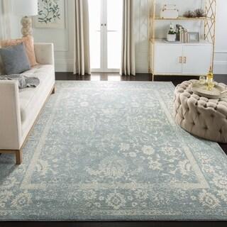 Safavieh Adirondack Contemporary Oriental/ Slate/ Ivory Area Rug (12' x 18')