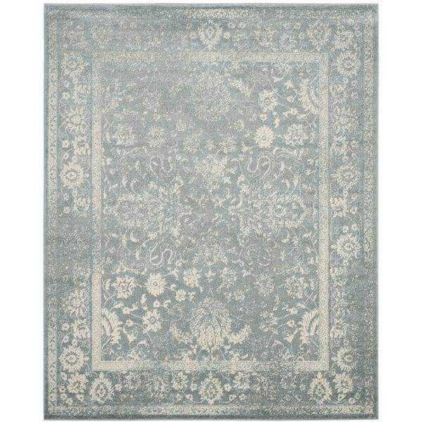 Safavieh Adirondack Contemporary Oriental/ Slate/ Ivory Area Rug - 12' x 18'