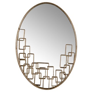 "16.5x24"" Maxime Oval Mirror"