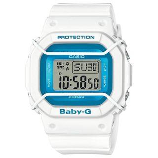 Casio Women's BGD501FS-7 'Baby-G' Digital White Resin Watch