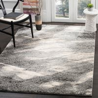 Safavieh Retro Modern Abstract Grey/ Ivory Area Rug - 12' X 18'