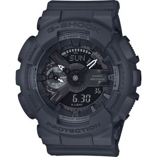 Casio Women's GMAS110CM-8A 'G-Shock' Analog-Digital Black Resin Watch