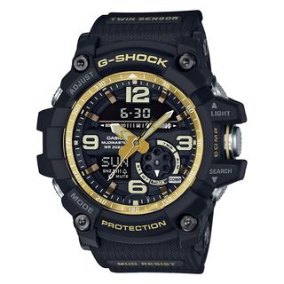 Casio Men's GG1000GB-1A 'G-Shock' Analog-Digital Black Resin Watch