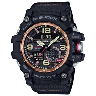 Casio Men's GG1000RG-1A 'G-Shock' Analog-Digital Black Resin Watch