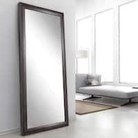 Ashland Grey 32 x 65.5 - Inch Floor Mirror - Grey/Brown