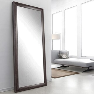 Ashland Grey 32 x 65.5 - Inch Floor Mirror - Grey/Brown