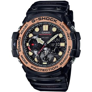 Casio Men's GN1000RG-1A 'G-Shock' Analog-Digital Black Resin Watch