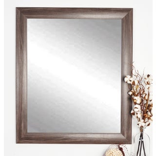Multi Size Ashland Dark Grey Wall Mirror - Grey/Brown