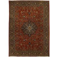 Handmade Herat Oriental Persian Tribal Mahal Wool Rug - 8'10 x 12'4 (Iran)