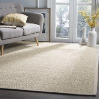 Safavieh Natural Fiber Coastal Jute Marble Area Rug - 6' Square