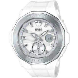 Casio Women's BGA220-7A 'Baby-G' Analog-Digital White Resin Watch|https://ak1.ostkcdn.com/images/products/16411671/P22759679.jpg?impolicy=medium