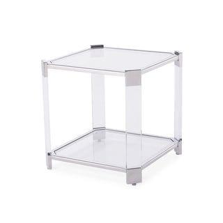 Burbank Silver End Table