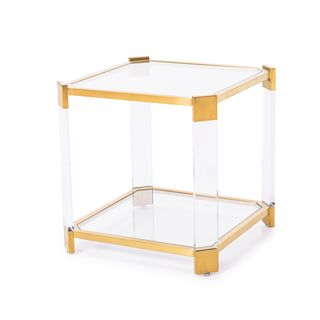 Burbank Gold End Table