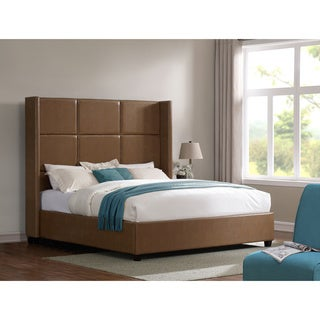 Jillian Tan Bonded Leather King Bed