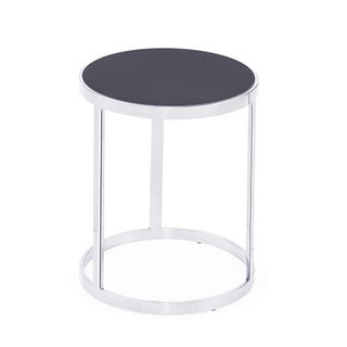 Soho Steel Charcoal Ceramic Nesting Tables