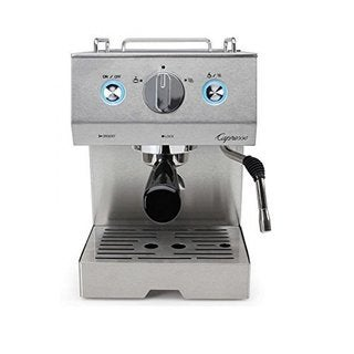 Capresso 125.05 Cafe Pro Espresso Maker, Silver (Refurbished)