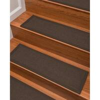 "Natural Area Rugs Handcrafted Margot Sisal Stair Treads (9"" x 29"") (Set of 13)"
