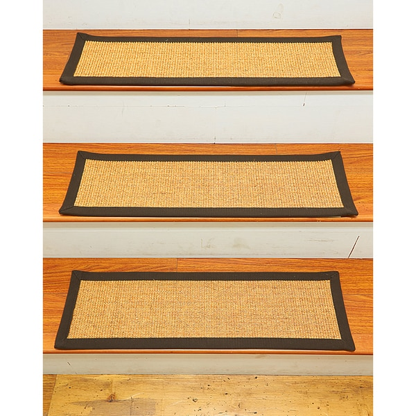 Natural Area Rugs Handcrafted Chandler Sisal Stair Treads (9 X 29) (Set Of