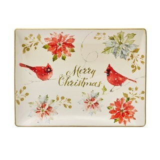Certified International 'Home For The Holidays' 16- x 12-inch Rectangular Platter