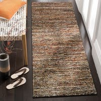 Safavieh Retro Contemporary Stripe Ivory/ Gold Runner Rug - 2'3 x 9'