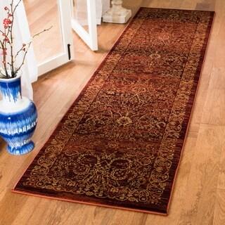 Safavieh Serenity Transitional Oriental Ruby/ Gold Runner Rug (2'3 x 6')