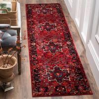 Safavieh Vintage Hamadan Vintage Oriental Red/ Multi Runner Rug - 2'2 x 14'