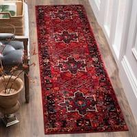 Safavieh Vintage Hamadan Vintage Oriental Red/ Multi Runner Rug - 2'2 x 18'