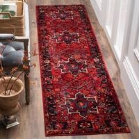 Safavieh Vintage Hamadan Vintage Oriental Red/ Multi Runner Rug - 2'2 x 22'