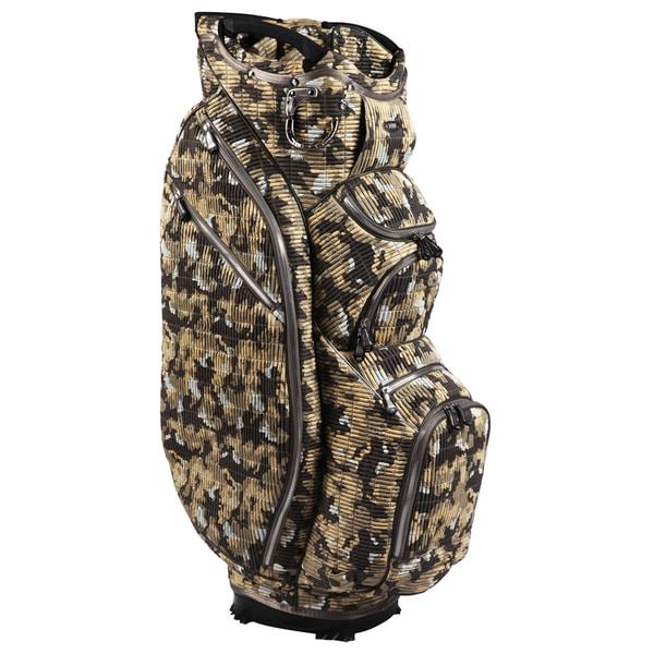 OUUL Camo 15 Way Cart Bag Desert Camo