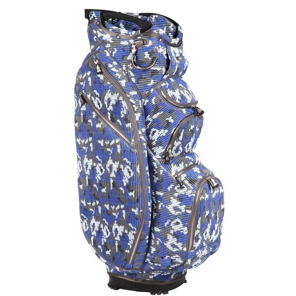 OUUL Camo 15 Way Cart Bag Ocean Camo