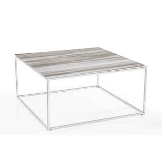 Midtown Silver Cocktail Table