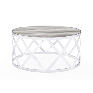 Tribeca Silver Cocktail Table