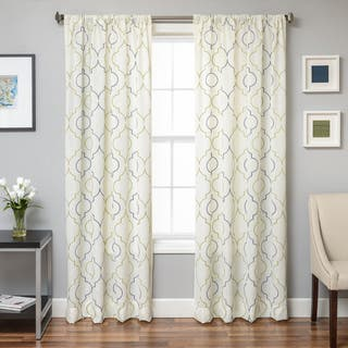 Softline Monza Emboridered Faux Linen Curtain Panel|https://ak1.ostkcdn.com/images/products/16412587/P22760423.jpg?impolicy=medium