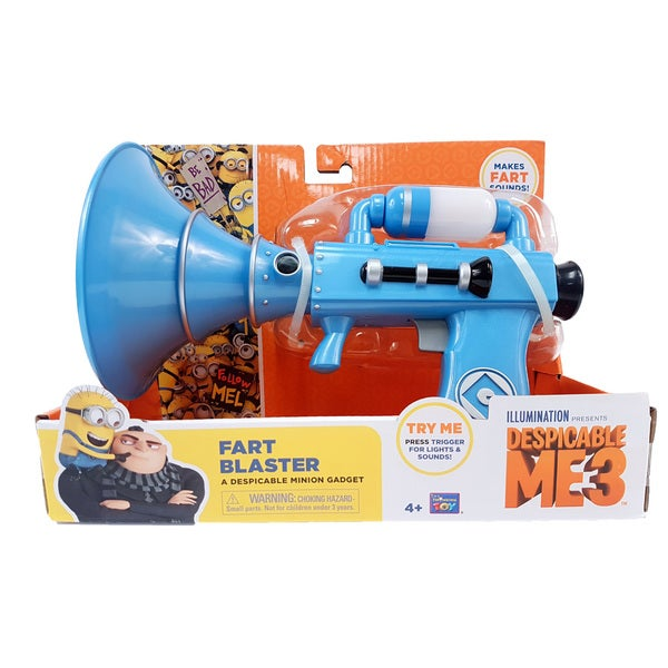 Thinkway Toys Despicable Me 3 Fart Blaster Handheld Noise Maker