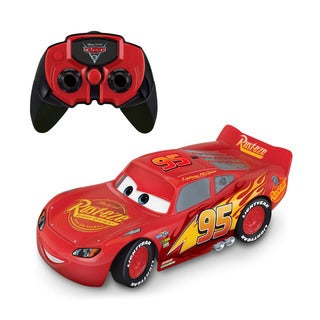 Thinkway Toys Cars 3 Racing Hero Lightning Mcqueen Remote Control Car