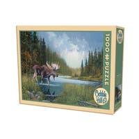 Cobble Hill Moose Lake Puzzle 1,000 Pieces