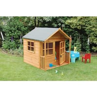 Childrens Playaway Outdoor Wood Play House