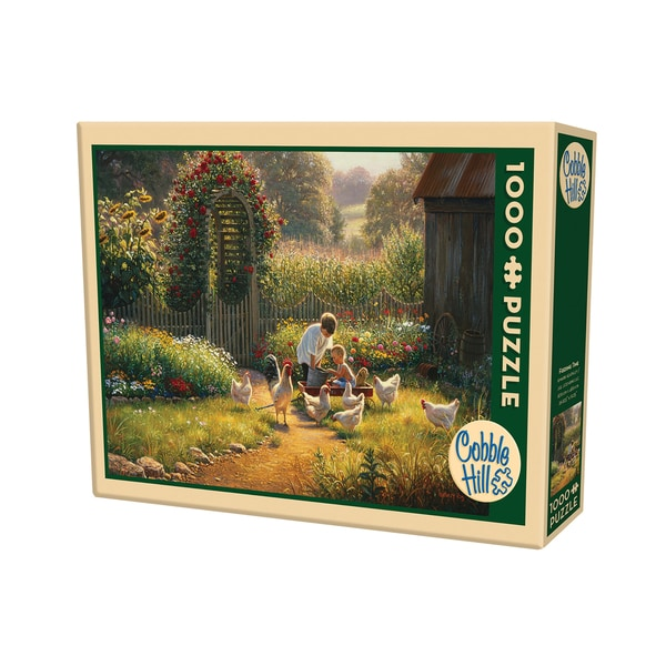 Cobble Hill Feeding Time Puzzle 1,000 Pieces