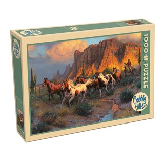 Cobble Hill Western Canyon Puzzle 1,000 Pieces
