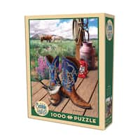 Cobble Hill Boots Puzzle 1,000 Pieces
