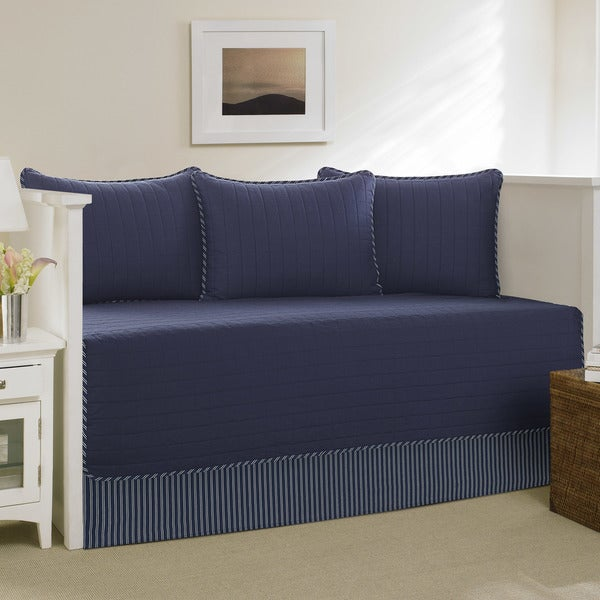 Shop Nautica Maywood Navy Daybed Cover Set On Sale