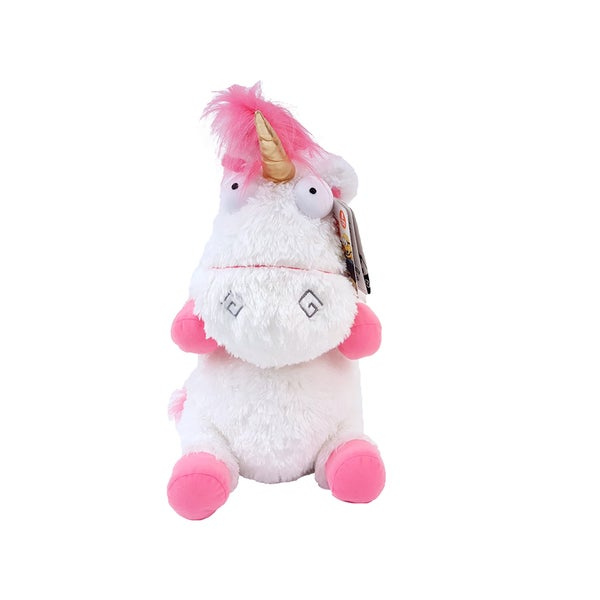 Despicable Me Fluffy Unicorn Jumbo Plush Toy Figure