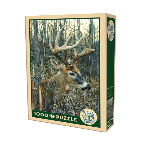 Cobble Hill White-tailed Deer Puzzle 1,000 Pieces