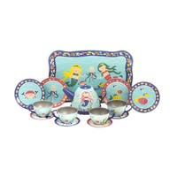 Schylling Mermaid Tin Tea Set