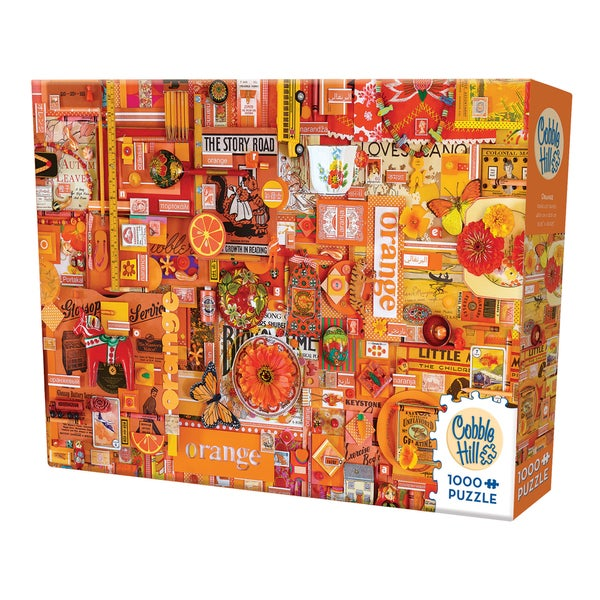 Cobble Hill All Things Orange Puzzle 1,000 Pieces