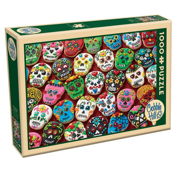 Cobble Hill Sugar Skull Cookies Puzzle 1,000 Pieces