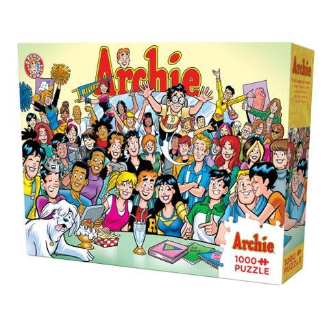 Cobble Hill Archie 'The Gang at Pop's 1,0000 Piece Puzzle