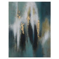 Yosemite Home Decor 'Jay' Original Hand-painted Wall Art